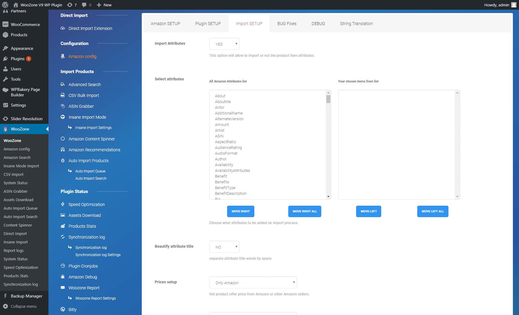 Products Import Setup – WooCommerce Amazon Affiliates – WZone